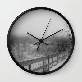 Vague Memory Wall Clock