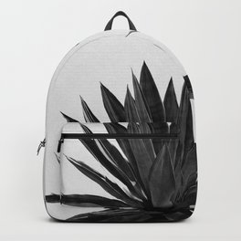 Agave Cactus Black & White Backpack