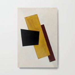"Lyubov Popova ""Composition (Red-Yellow-Black)"""" Metal Print"