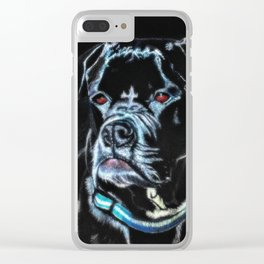 Mugsy Clear iPhone Case