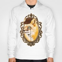 mr fox Hoodies featuring Mr Fox by mattdunne
