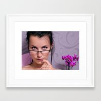 teacher Framed Art Prints featuring Teacher by Karel Stepanek