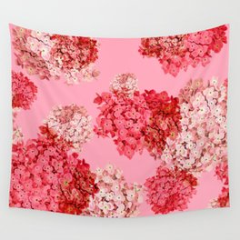 hydrangea (doubled) Wall Tapestry