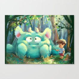 Henry and Rolly Canvas Print