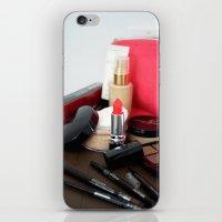make up iPhone & iPod Skins featuring Make-Up by Tanya Thomas