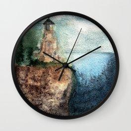 Recollection: Split Rock Lighthouse Wall Clock