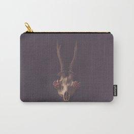 Deer skull still life Carry-All Pouch