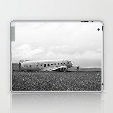 Iceland Plane Wreckage Laptop & iPad Skin