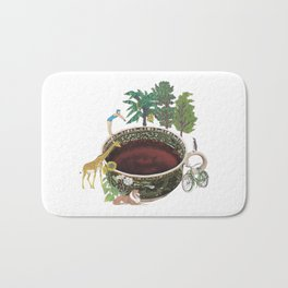 Tea Time Bath Mat