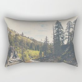 into the wild ...  Rectangular Pillow