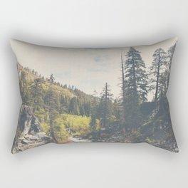 into the wild ...  Rectangular Pillow