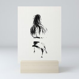 A Woman's Figure Mini Art Print