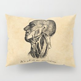 Frankenstein - Mary Shelley - We Shall Be Monsters Pillow Sham