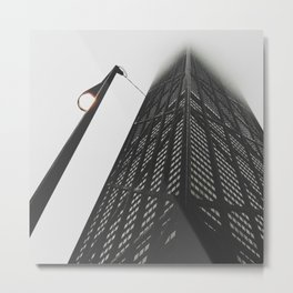 Chicago Fog Metal Print
