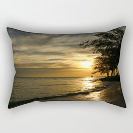 A Perfect Days End Rectangular Pillow