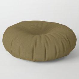 Raw Umber Floor Pillow
