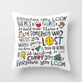 Everywhere You Look Throw Pillow
