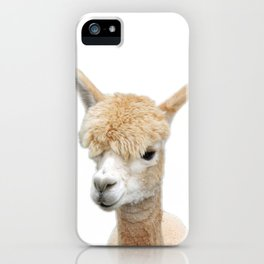 Fawn Alpaca iPhone Case