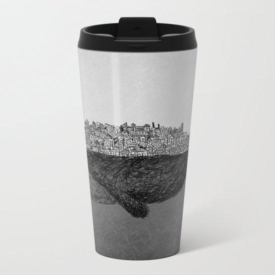 Whale City Metal Travel Mug