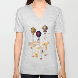 High in the Sky Unisex V-Neck