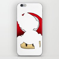 super mario iPhone & iPod Skins featuring Super Mario by SEANLAR94
