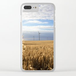 Prairie Spinner Clear iPhone Case
