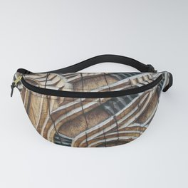 A Maori Carving Fanny Pack