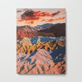 Atlas Paradise Metal Print