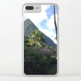 St Lucia Clear iPhone Case