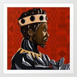 Long Live the King Art Print
