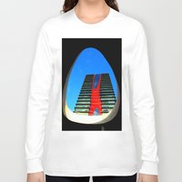 barcelona Long Sleeve T-shirts featuring barcelona by Joan-Ma Espinosa