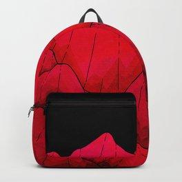 Rose red Rocks Backpack