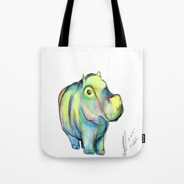 Colors of the Wind - Hippo Tote Bag