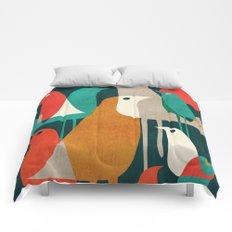 Flock of Birds Comforters