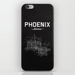 Phoenix, Arizona - b/w iPhone Skin