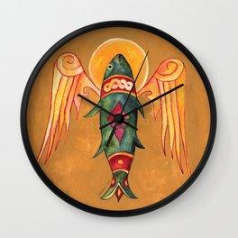 Holy Mackerel Pun Wall Clock