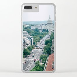 Independence Avenue Clear iPhone Case