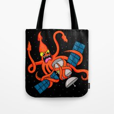 Squid vs Satellite Tote Bag