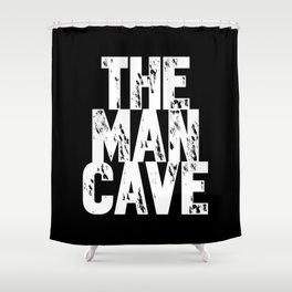Man Cave 1 Shower Curtain