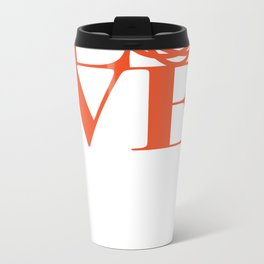 Saatchi Love Metal Travel Mug