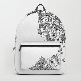 FLORAL RABBIT Backpack