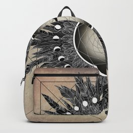 Crow Twilight Dreamcatcher Backpack