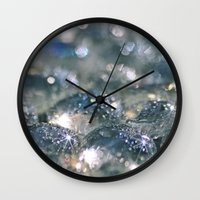 chill Wall Clocks featuring Chill... by Lisa Argyropoulos