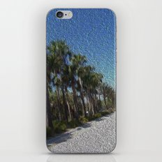 Infinite Palm Trees iPhone Skin