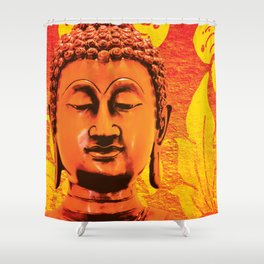 Buddha - A Deep Meditation Shower Curtain