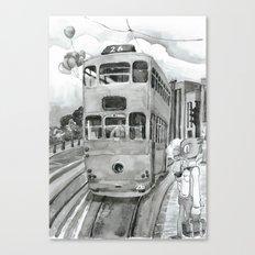 { 未來惑星 } Tramcar Canvas Print