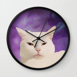 Space Judge Wall Clock