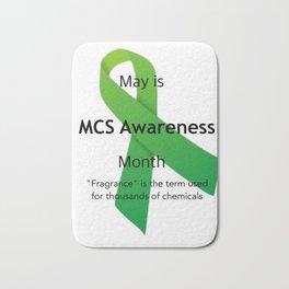 MCS Awareness Bath Mat