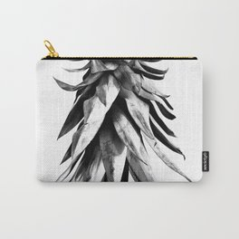 Pineapple Upside Down #1 #tropical #fruit #decor #art #society6 Carry-All Pouch
