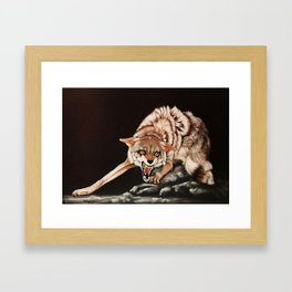 Don't Mess  With Me! painting Framed Art Print